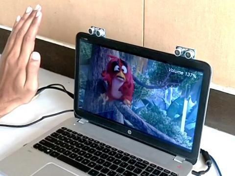 کنترل کامپیوتر با حرکات دست با آردوینو و ماژول اولتراسونیک