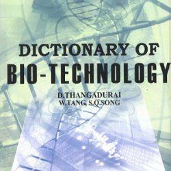 Dictionary Of Bio-technology