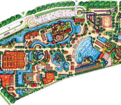 نقشه معماری پارک