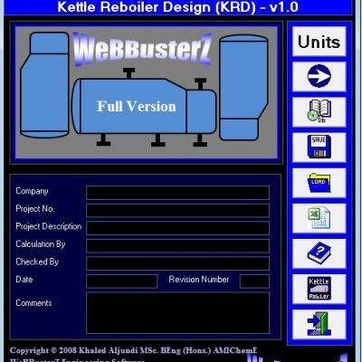 طراحی ریبویلر با نرم افزار Kettle