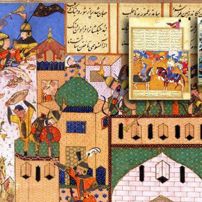 بررسی مفهوم زمان و مکان در نگارگری ایرانی