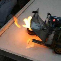 آموزش ربات آتش نشان