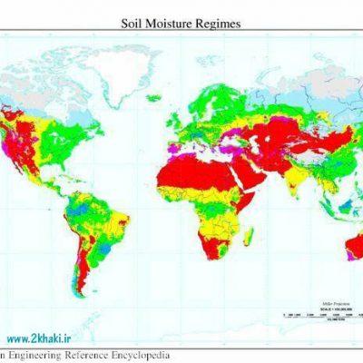رژیم های رطوبتی خاک