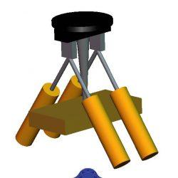 مدل سازی بازوهای مکانیکی در محیط گرافیکی