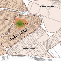 طرح منظر شهری محله خاک سفید