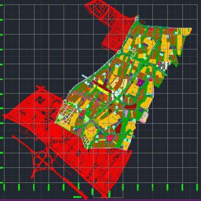 نقشه آماده سازی شهر جدید هشتگرد