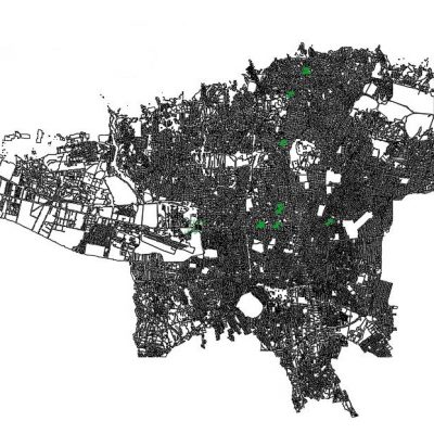 نقشه اتوکد کل تهران