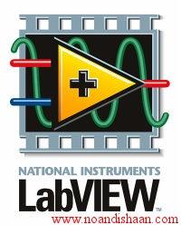 کنترل موتور پله ای با کمک نرم افزار LabVIEW