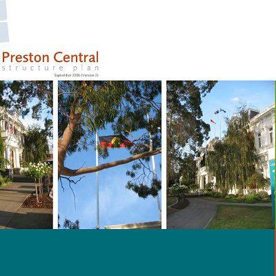 Preston Central Structure Plan