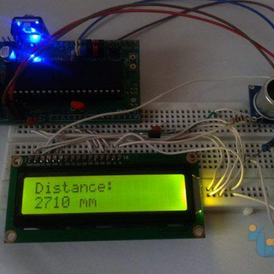 راه اندازی سنسور آلتراسونیک با میکروکنترلر