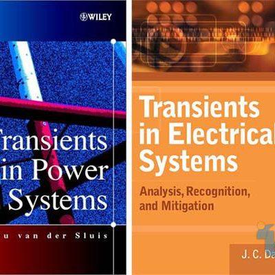 کتاب در زمینه بررسی حالات گذرا در سیستم قدرت