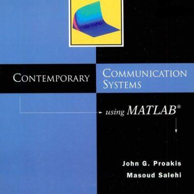 کتاب Contemporary Communication Systems using Matlab