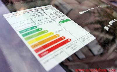 تعیین مصرف انرژی لوازم خانگی