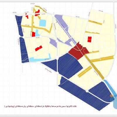 الگوی توسعه منطقه ۱۵ تهران
