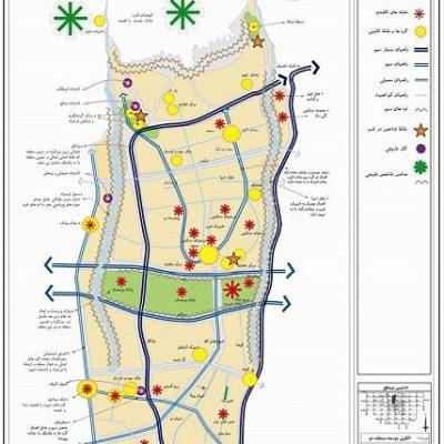 الگوی توسعه منطقه ۲ تهران