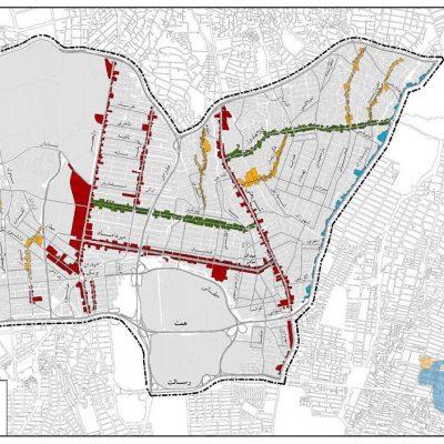 الگوی توسعه منطقه ۳ تهران