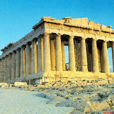 تأثیر معماری ایران بر یونان