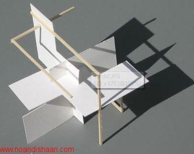آموزش ساخت ماکت بناهای مدرن