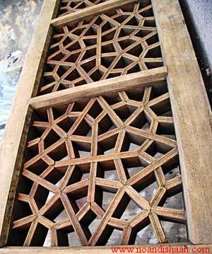 پنجره در معماری مسکونی دوره صفویه اصفهان
