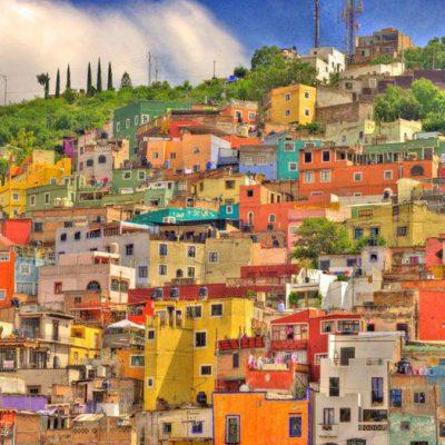 رنگ آمیزی نمای ساختمان ها