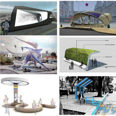 نوآوری در طراحی جایگاه های اتوبوس