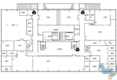 نقشه های اتوکد و فایل مکس از کراون هال