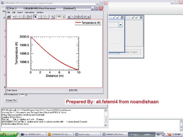 نرم افزار CHEMKIN Pro