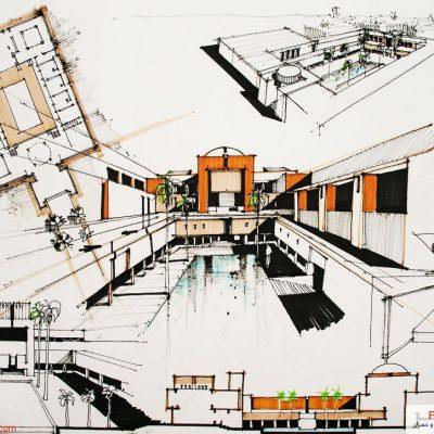 نمونه شیت تحلیل فضای شهری