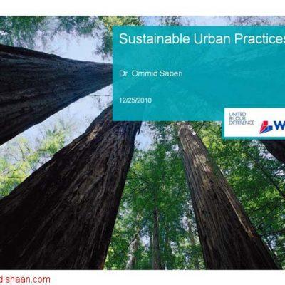 Sustainable Urban Practices