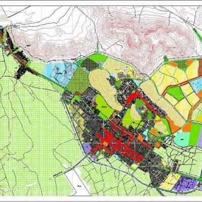 نقشه های کد طرح جامع شهرکرد