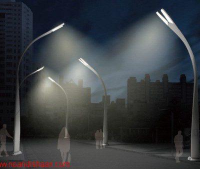 مشخصات فنی روشنایی راه های شهری
