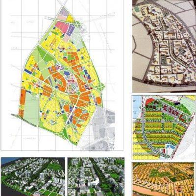 نقشه تفصیلی شهر جدید اندیشه