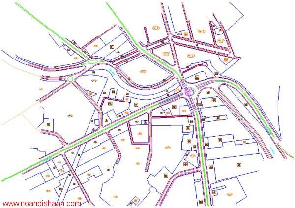 کتاب معیارهای طرح هندسی راه ها و تقاطع ها