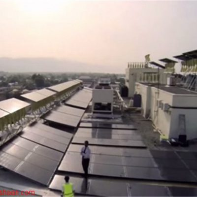 بزرگترین سیستم ترکیبی بادی خورشیدی در جهان