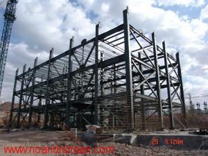 پروژه سازه فولادی