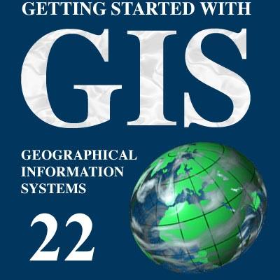 نقشه GIS منطقه 22