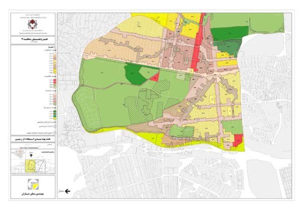 نقشه پهنه بندی منطقه 3