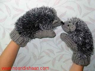 آموزش بافتن دستکش