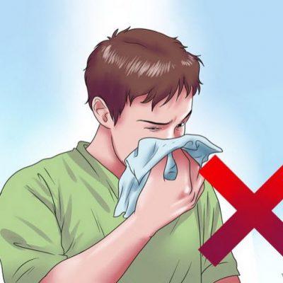 رفع گرفتگی بینی