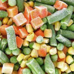 فرآیند انجماد مواد غذایی