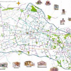 نقشه کد تبریز