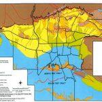 نقشه GIS زمین شناسی تهران