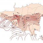 نقشه GIS آب های زیرزمینی تهران