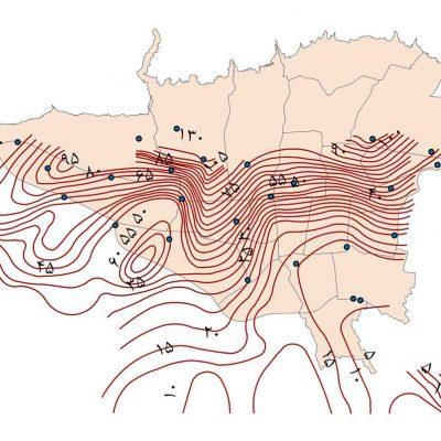 GIS آب های زیرزمینی