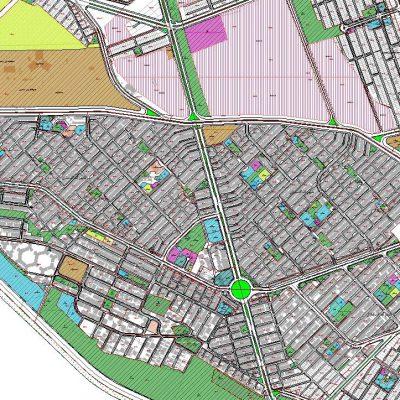 نقشه GIS منطقه ۱۰ شیراز