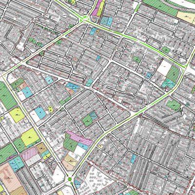 نقشه GIS منطقه ۷ شیراز