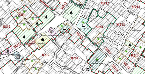 GIS منطقه هشت شیراز