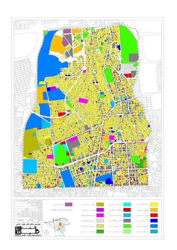 الگوی توسعه منطقه شش تهران