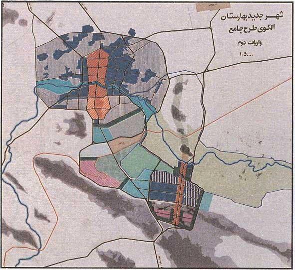 استخوانبندی شهر بهارستان