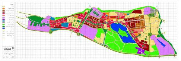 ساختار کالبدی پیشنهادی منطقه 22 تهران